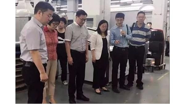 一本图书印刷智能制造测试线牵动行业目光